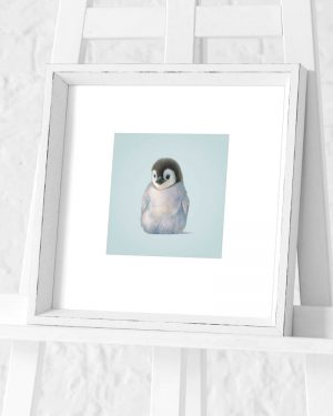 Penguin Preframed Print