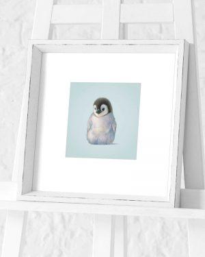 Penguin Preframed Print